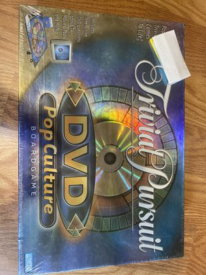 Trivial pursuit DVD pop-culture board game for Sale in Los Angeles, CA