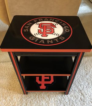 San Francisco Giants End Table for Sale in Kingsburg, CA