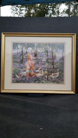 The Goose Girl Framed for Sale in Ocklawaha,  FL