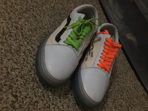 Off-white vans size 10 for Sale in Chesterfield, VA