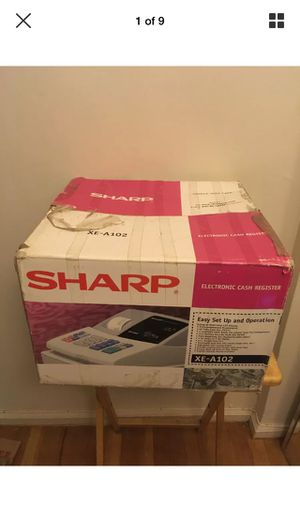 Sharp Electronic Cash Register XE-A102 Working for Sale in The Bronx, NY