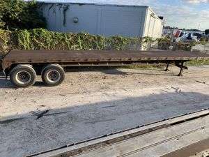 45 flatbed trailer for Sale in Clermont, FL