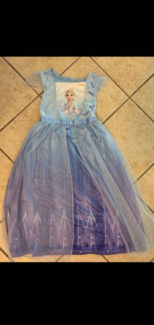 Disney Store girls Frozen dress/costume size 10/12 for Sale in Miami, FL