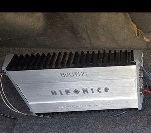 Hifonics 1700 watt amplifier for Sale in Garden Grove, CA