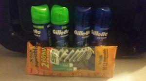 MEN GILLETTE SET for Sale in Chesapeake, VA