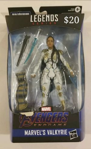 Marvel Legends Valkyrie Collectible Action Figure Toy with Bro Thor Build a Figure Piece for Sale in Chicago, IL