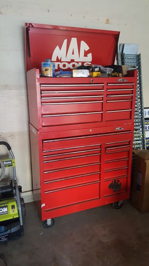 Mac tool chest with tools and key for Sale in Austin, TX