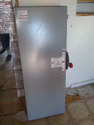 600v, 200amp. Safety switch for Sale in Moriarty, NM