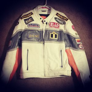 Icon Leather Motorcycle Jacket for Sale in Willard, OH