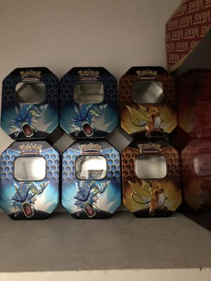 Pokemon Hidden fates tins for Sale in Stockton, CA