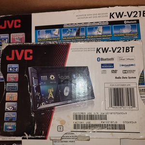 JVC Double Din Touch Screen Reciever for Sale in Annandale, VA