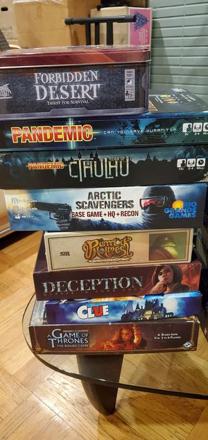 Board games for Sale in Daly City, CA