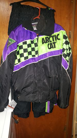 Snowmobile coat & bibs for Sale in Marshall, MI