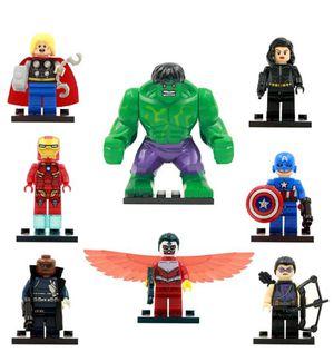 Avengers lego compatible Mini figures for Sale in Sugar Hill, GA