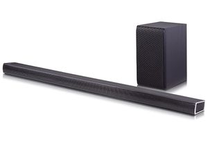 LG Electronics SH7B 4.1 Channel 360W Sound Bar with Wireless Subwoofer for Sale in Las Vegas, NV