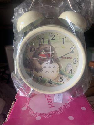 Totoro clock/alarm for Sale in Los Angeles, CA