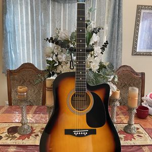 sunburst fever acoustic guitar for Sale in Bell Gardens, CA