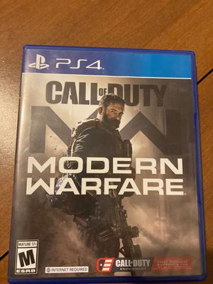 Call of duty modern warfare ps4 for Sale in Cumberland, RI