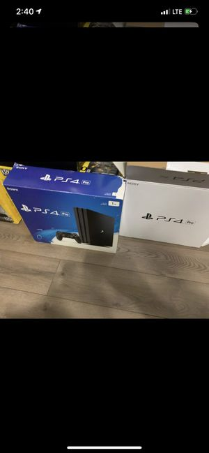 Sony Ps4 a Pro 1TB with Call of duty IIII for Sale in Orlando, FL