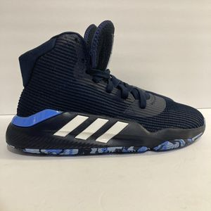 adidas Pro Bounce 2019 Men's 9 Blue Basketball Shoes High Top Sneakers - F97283 for Sale in Fresno, CA