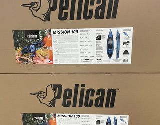 Pelican Mission Kayak With Paddle for Sale in Plainfield,  NJ