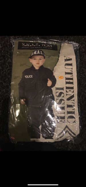 Toddler swat costume for Sale in Chicago, IL