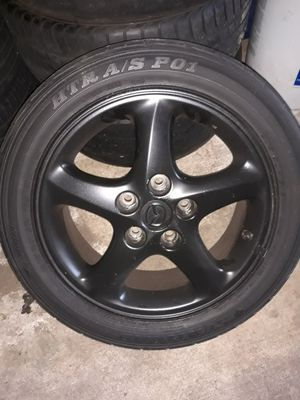 Wheel and tires. Mazda protege. for Sale in Jacksonville, FL