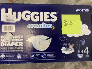 Diaper and wipes sale!! See pictures for prices and sizes. for Sale in Pomona, CA