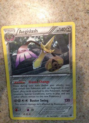 Pokemon Aegislash Stage 2 for Sale in Fresno, CA