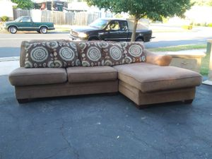 Wall corner. Couch with built in chase for Sale in Odenton, MD