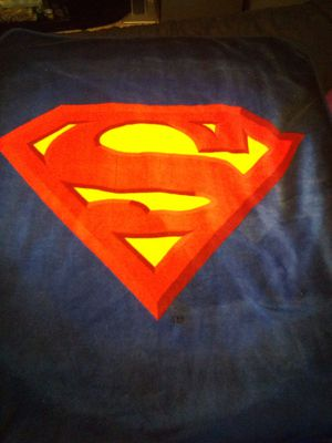 Superman blanket for Sale in South Gate, CA