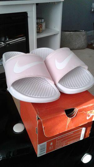 Nike slides size 8 for Sale in Ashburn, VA