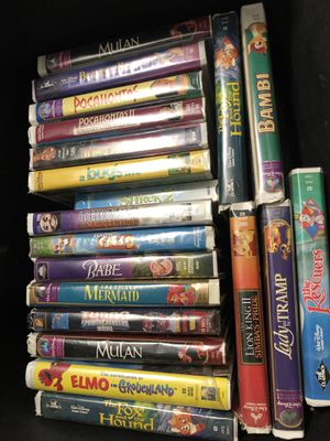Disney VHS haul for Sale in Laveen Village, AZ