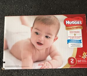 Huggies Little Snugglers size 2 count 92 for Sale in Garden Grove, CA