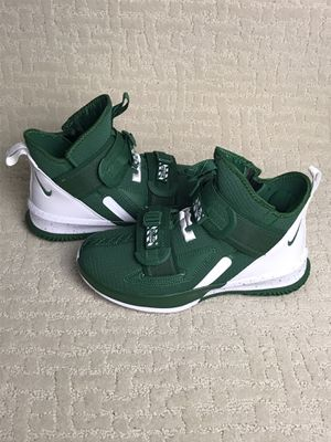 Nike Lebron Soldier XIII 13 TB Promo Green Forest BQ5553-300 Sz 6.5 RARE New without box for Sale in French Creek, WV