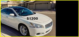 Price$1200 Nissan Maxima for Sale in Hartford, CT