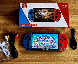"""Handheld Video Game Player 5.1"""" 8GB Game Console Built-in 3000 Classic Games (GENERIC BRAND) for Sale in Kent,  WA"""