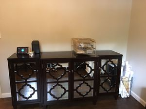 3 piece storage or media cabinet for Sale in Spanish Flat, CA