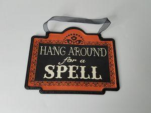 Halloween Spell Sign for Sale in Glendora, CA