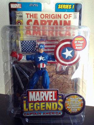 Marvel Legends Series I Captain America for Sale in Newark, CA