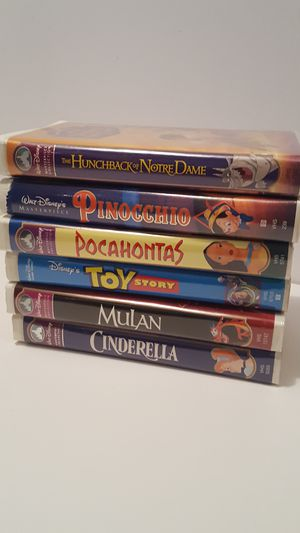 Disney vhs collection for Sale in Cicero, IL
