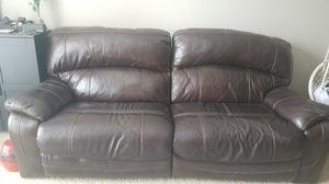 Power Recliner sofa leather - Must go for Sale in Atlanta, GA
