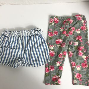 Girls Lot size 6-9m Shorts and Pants for Sale in Irvington, NJ