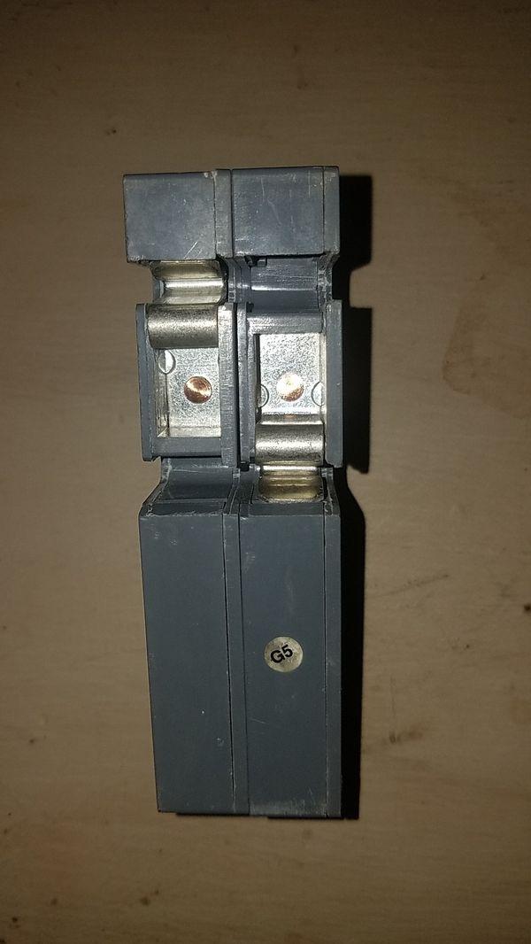2 pole common trip 100 amp circuit breaker zinco style