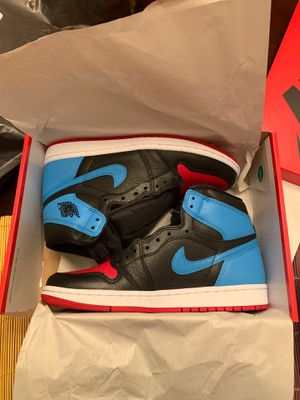 Jordan 1 Retro High NC to Chi Leather (W) 9.5 for Sale in Clayton, NJ