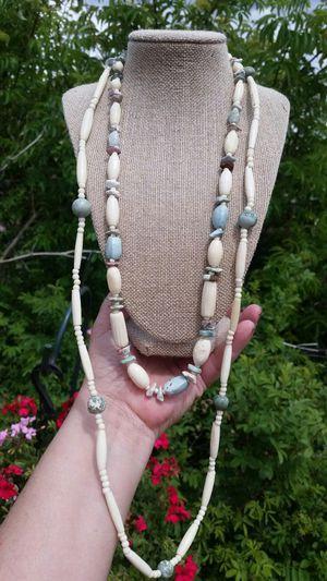 Carved Blue Jasper Stone Necklaces for Sale in Wenatchee, WA