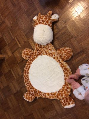 Giraffe baby blanket or toy for Sale in Orlando, FL