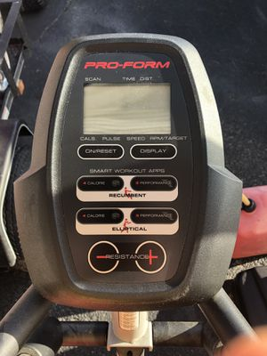 Pro-Form Elliptical & Bike for Sale in Bluff City, TN