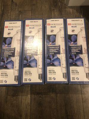 Hortilux blue 1000 watt grow lamp, like brand new! for Sale in Las Vegas, NV