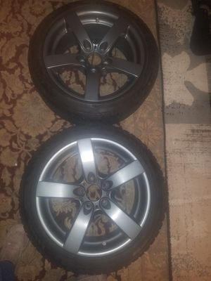 4 tires and whells $600 for Sale in Annandale, VA